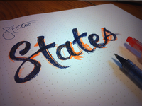 States Doodle