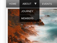 Desktop Navigation Bar