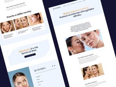 LDDERMA - Article website skin dashboard branding saas website web app product design responsive web design uidesign uxdesign dermatology saas b2c marketing ux ui responsive cms mobile visual identity