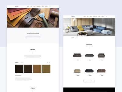 Natuzzi Editions — Subpages