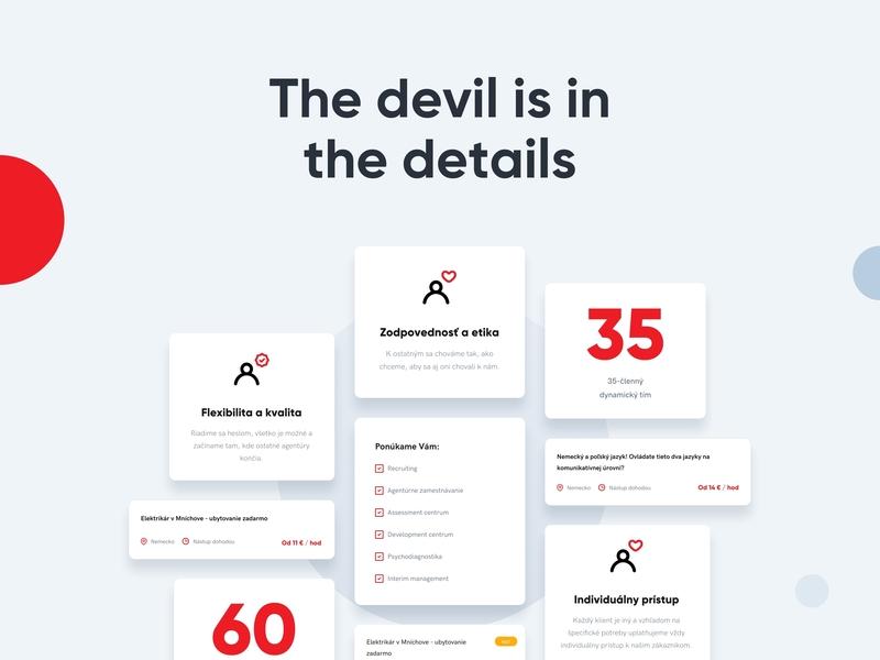 LUTO - Elements agency branding app landing page business clean illustration ui minimal mobile app portfolio sketch web web app webdesign website luto gradient careers product