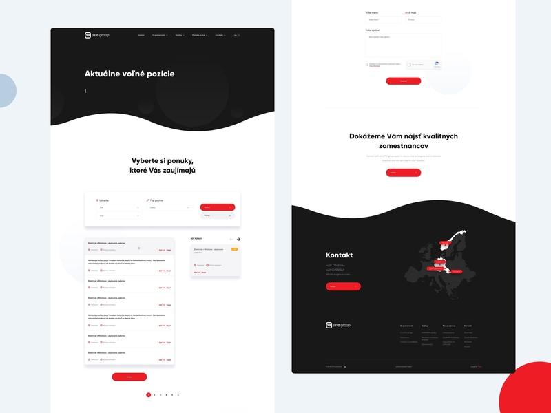 LUTO - Careers agency branding app landing page business clean illustration ui minimal mobile app portfolio sketch web web app webdesign website luto gradient careers product