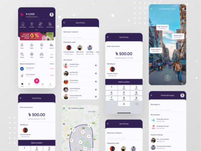 bKash App Redesign : V1 ui dribbble best shot dribbble branding website design app design ofspace payment form payment method paytm payment app pay payment digital payment bkash