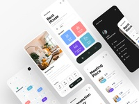 Home Rent Services ofspace branding agency branding and identity branding concept real estate branding real estate agency real estate agent real estate logo real estate payment app payments payment money management money transfer money app money