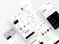 Wallet App patm paypal payment transferwise transfer money money transfer payment form bank app banking finance app finance fintech app fintech payment app wallet app wallet dribbble app design branding ofspace