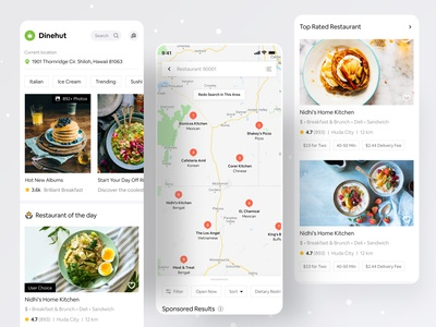 Food Application logo app design branding food illustration dribbble ofspace agency ofspace minimal food app yelp deliveroo swiggy zomato food apps food and drink food app design food app ui food app
