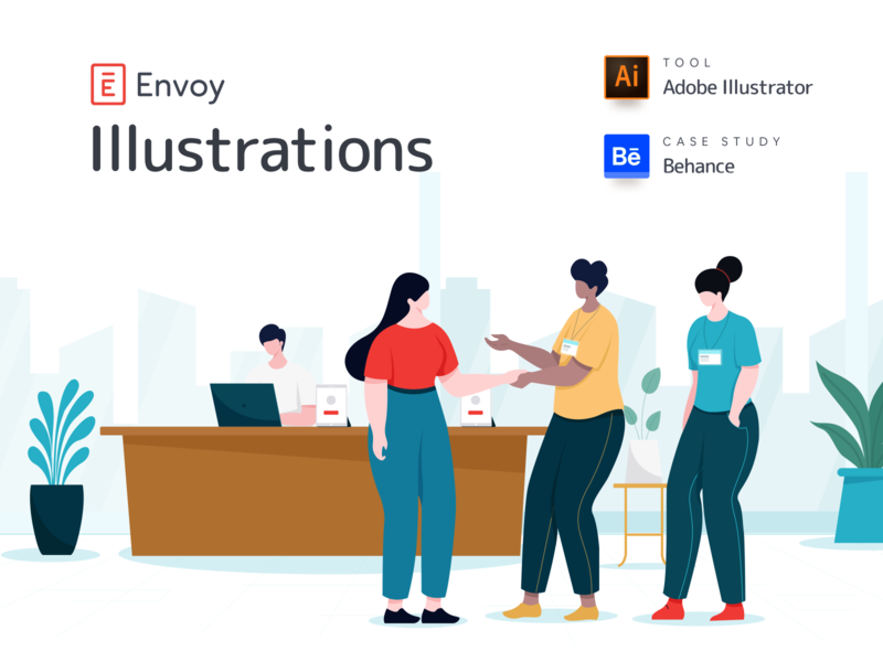 ENVOY ILLUSTRATIONS illistration brand identity design brand and identity brand designer branding design brand identity brand design branding brand ofspace agency ofspace illustrations design illustrationsketch illustrations  wallpaper illustrations/ui illustraion illustration art illustrations illustration illustrator