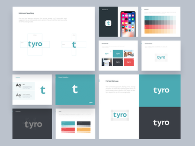 Tyro Finance I Branding Design logo branding design invoice invoicing finance app finance ofspace website design app design branding