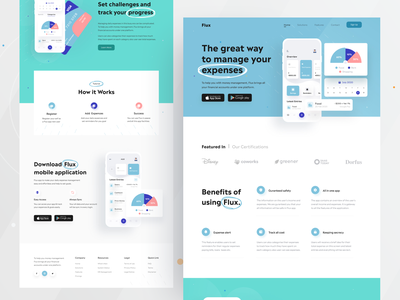 The great way to manage your expenses logo illustration design ofspace agency dribbble website design app design branding ofspace finance fintech