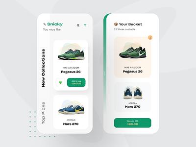 Shop App UI product app design ui design business startup e-commerce show app designer mobile app ios
