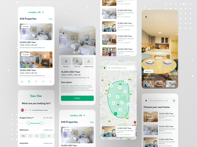 Rental App Project maps map agent real estate agent real estate branding real estate agency real estate property developer property ofspace design ofspace rental app rent