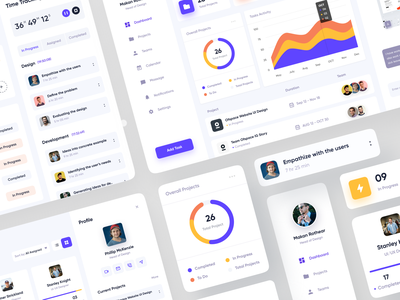 Project Mgt Dashboard website design dashboard design dashboard app dashboard ui dashboard behance dribbble branding travel app ofspace inside ofspace design project365 projects project management project