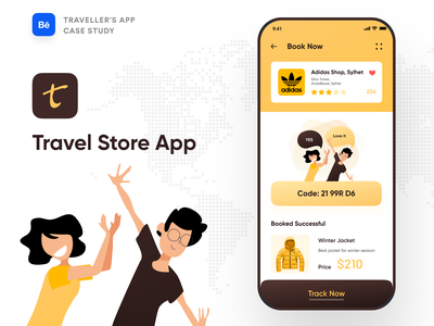 Travel Store App Case Study app design branding typography ofspace team ofspace case study dribbble booking.com booking app bookings booking online booking traveling training travel app travel agency travel