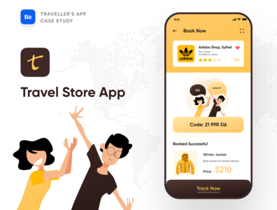 Travel Store App Case Study