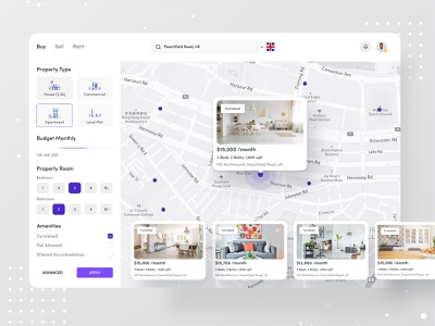 Buy-Sell-Rent dribbble ofspace website design branding map realestate logo real estate branding realestate real estate agency real estate agent real estate logo real estate renting rentals rental app rental rent
