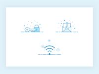 Mobile Walkthrough Illustration Exploration