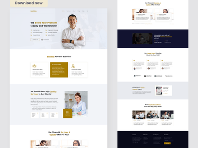 Babsha - Corporate & Business PSD Template