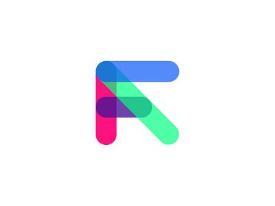 Future Access: Symbol minimal modern typography type intersect opacity symbol mark minimalist branding logo letspanda