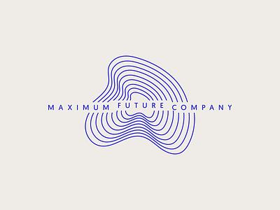 Maximum Future Company– Logo type typography minimalist minimal extreme adrenaline adventure hiking topography mountain branding logo letspanda