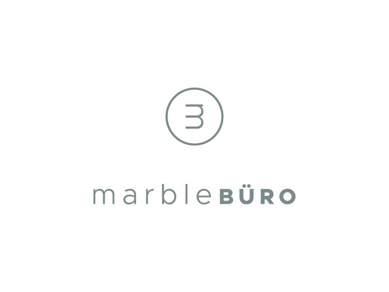 Marble Buro Logo Design By Let S Panda Dribbble Dribbble