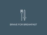 Brave for Breakfast: Logo