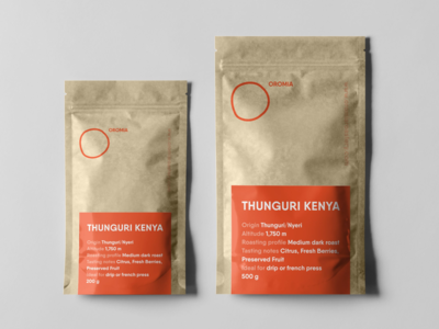 Oromia: Packaging