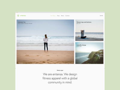 entensa: web design