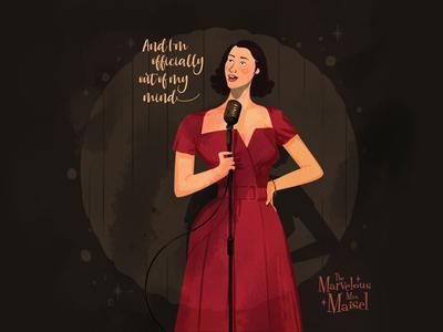 The Marvelous Mrs. Maisel fan art