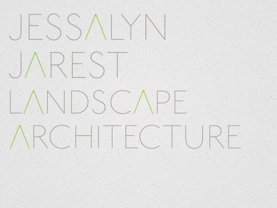 Jjla landscape architecture logo branding
