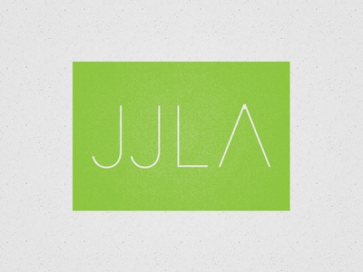 Jjla2 landscape architecture logo branding