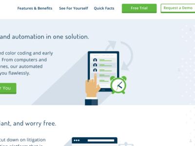 New site for online drug test scheduling solution. app scheduling website web