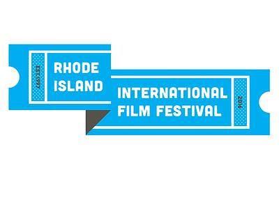 RI Film Fest logo film fest logo brand