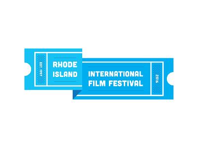 RI Film Fest logo Refinements brand logo film fest