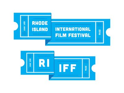 RIIFF Logo Exploration brand logo film festival