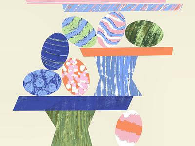 Happy Easter! illustration easter
