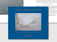 Wood, Wind and Water book design