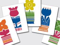 Nordic Flower series
