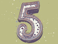 36 Days of Type Number 5