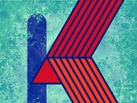 36 Days of Type Letter K