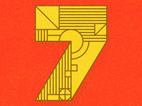 36 Days of Type Number 7