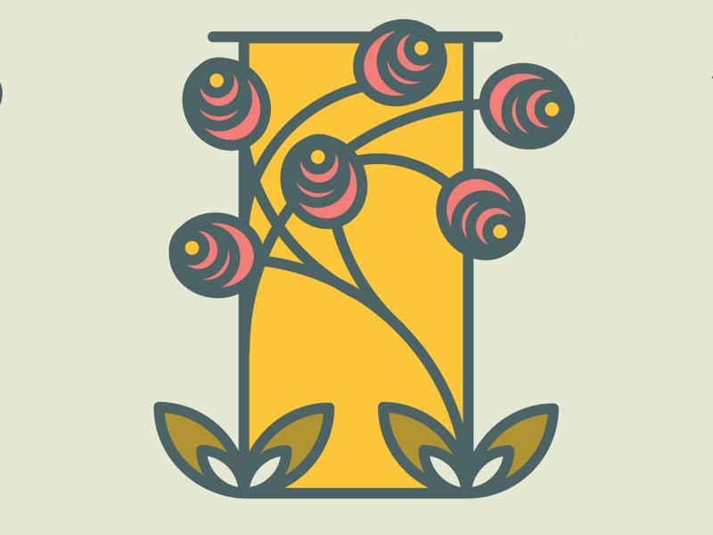 Letter I for #36daysoftype letter illustration letter design 36daysoftype letter i
