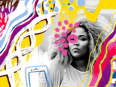 Lizzo Doodle lizzo drawing doodle adobe fresco illustration graphic design