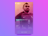 Euro 2016: Player Card