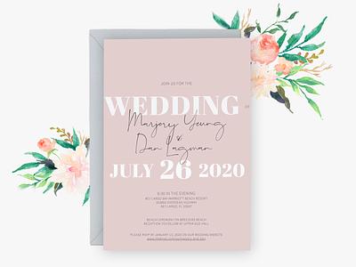 Wedding Invitation envelope wedding card wedding print design stationary wedding invitation invitation design