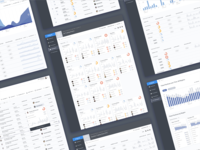 Compliance Dashboard Screens
