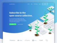 SeedAndDew Landing Page