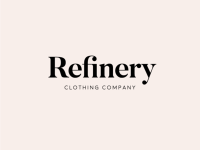 Refinery Clothing Co. Logo