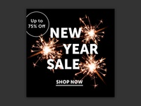 New Year Sale | Email Creative