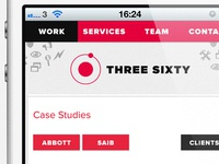 Three Sixty Mobile Site