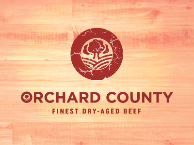 We Can't Stop Here, This Is Beef Country beef meat orchard county logo